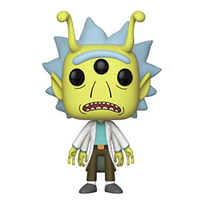 Funko Pop! Animation #338 Rick and Morty Alien Rick (2020 Spring Convention Exclusive): Toys & Games