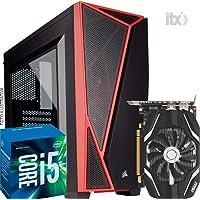 Pc Gamer Intel I5 7400, Geforce Gtx 1050TI 4gb, 8gb DDR4, 500w 80Plus - Black Friday