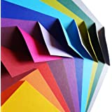 100 hojas de papel para papiroflexia | Colección de Origami de Colores Complementarios