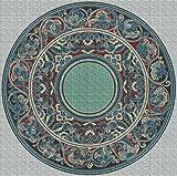 Art Needlepoint Ethnic Design on Needlepoint Canvas