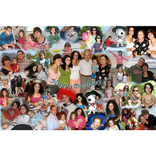 (Your Photos on Canvas Collage , Wedding or Family Collage on Canvas (16
