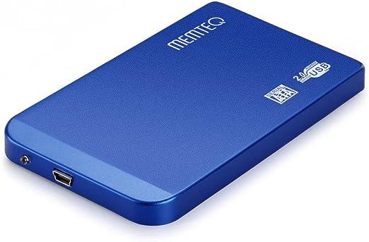 Memteq BJ62-01 - Caja de disco duro externo 2.5