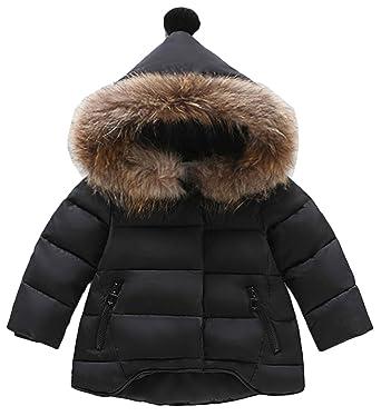 e8cff559f713c Scothen Manteau d hiver veste fille jeune nouveau-né enfant bas âge bébé  vêtements