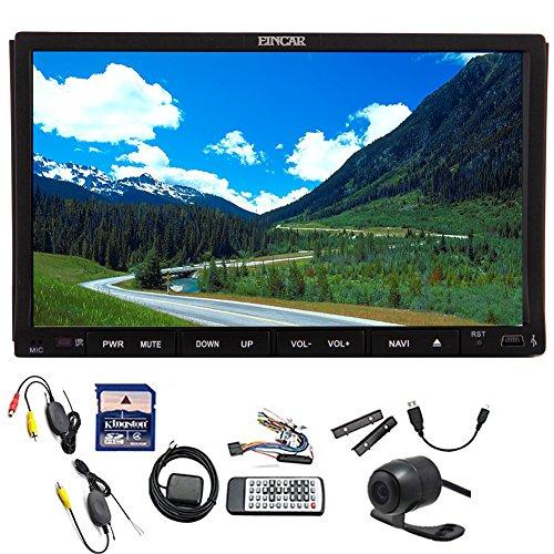 Wireless Free backup Camera support Eincar 2015 Car DVD Play
