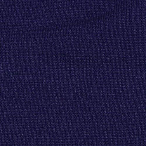 invierno beanie slouch y Marino Azul de clásico de diseño gorro moderno gorro abrigo DonDon suave an0fEqY0