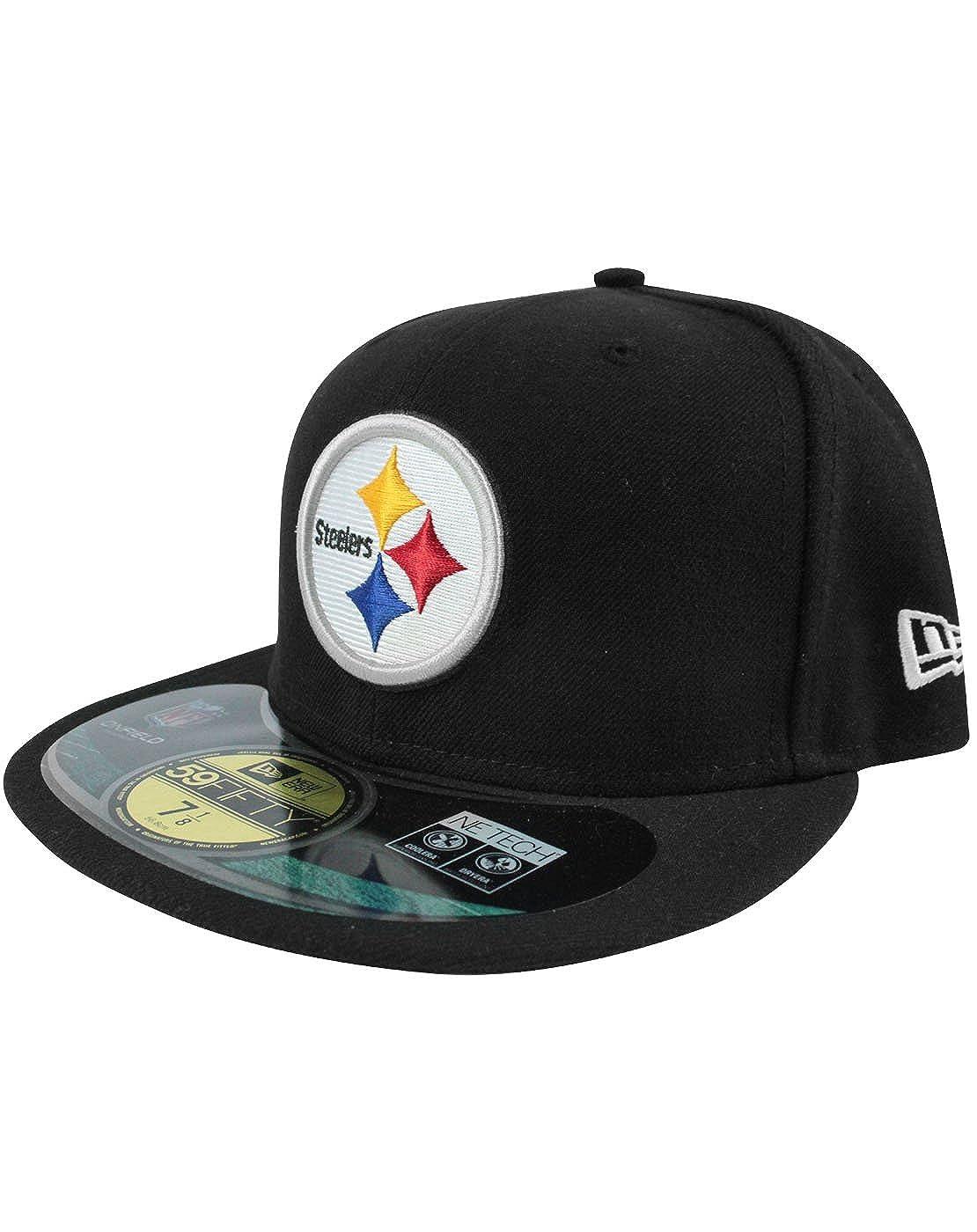 595666c1a6bf2 Unisex-Adultos - New Era - Pittsburgh Steelers - Gorra  Amazon.es  Ropa y  accesorios