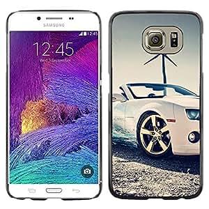 Stuss Case / Funda Carcasa protectora - Bling Sport Scar Convertible Windmill - Samsung Galaxy S6 SM-G920