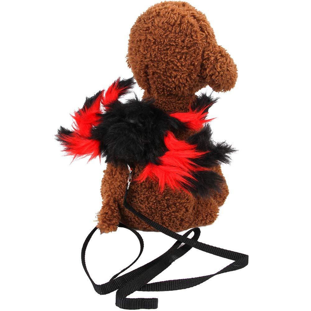 Bulz Disfraz de araña Mascotas, arnés Ajustable para Perro y Gato ...