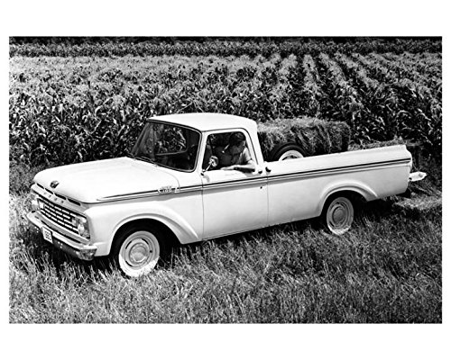 1963 Ford F100 Pickup Truck Photo Poster