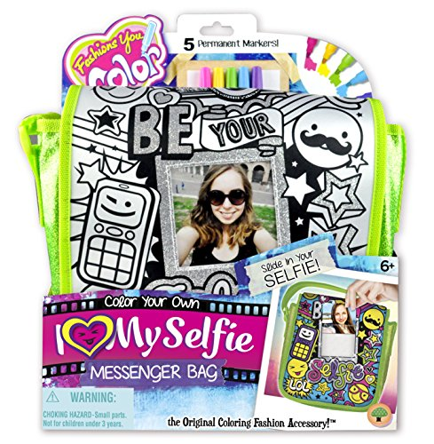Fashions You Color Selfie Messenger Bag, Polaroid (Color Messenger Bag)