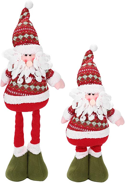Xmas Santa Claus Doll Toy Christmas Table Ornament Home Desk Decorations Fashion