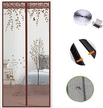 CFJKN Puertas de pantalla con imanes para puerta corredera, con ...
