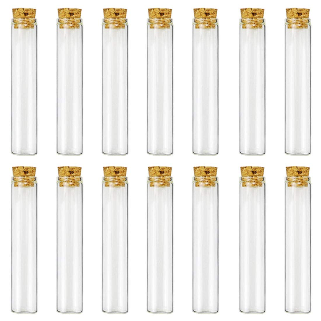 25ml Test Tubes Glass Bottles with Corks 20  x 100  mm, Pack Of 30  Superlele Pack Of 30 Superlele Superlady