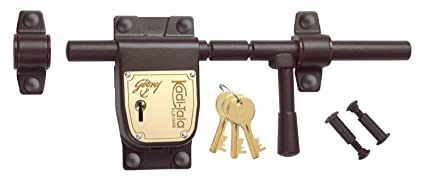 Godrej Locks Kadi Tala - 275 mm (Texture Brown)