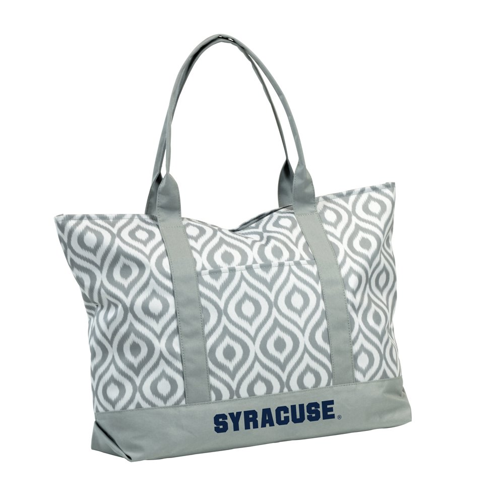 Logo Brands NCAA Syracuse Ikat Tote, One Size, Multicolor
