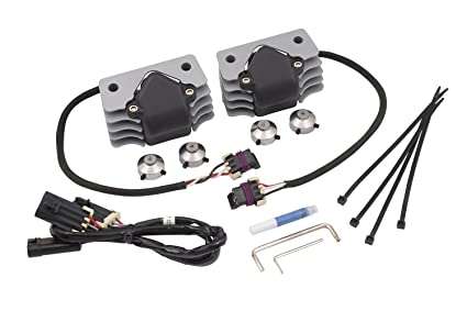 accel 140414n stealth supercoil motorcycle coil on plug technology for harley  davidson sportster engines kit includes