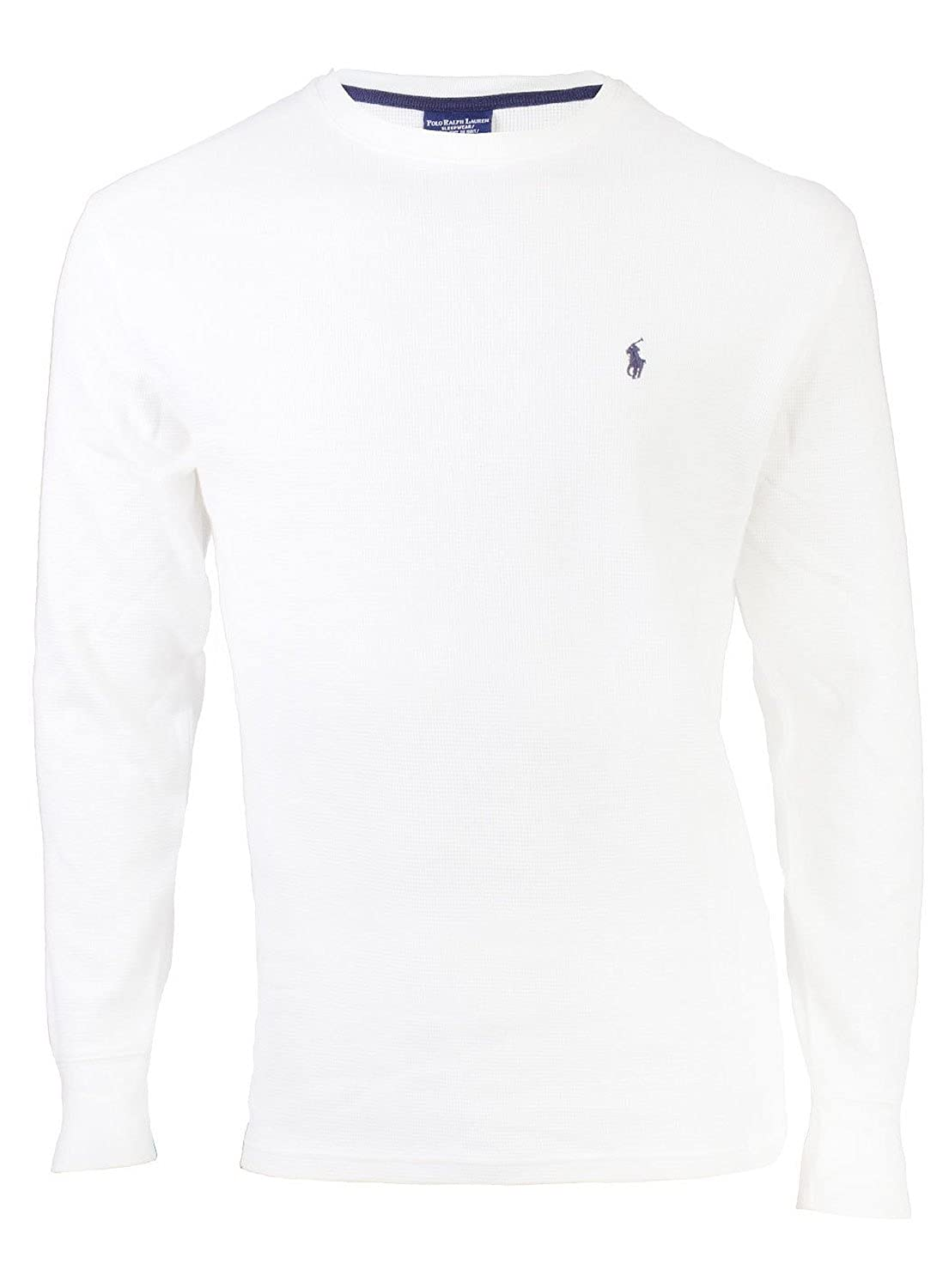 Polo Ralph Lauren Men's Thermal Waffle-Knit Sleep/Lounge Shirt