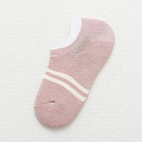 CWKJB Calcetines de Invierno Femenina versión Coreana de la Felpa de algodón Grueso con Terry Calcetines