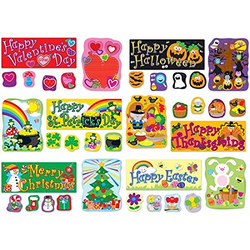 Carson Dellosa CD-110180 Holidays BB Set -