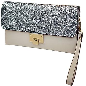 Mujeres Glitter Bling lentejuelas embragues bolsos de noche ...