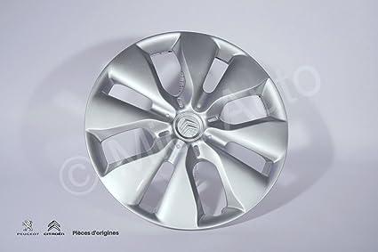 Tapacubos para rueda de Peugeot Citroen: Amazon.es: Coche y moto