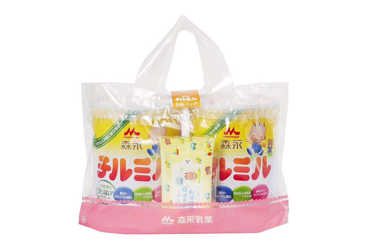 Morinaga Chirumiru Daikan 2 cans pack 820g ~ 2 cans