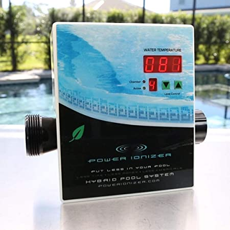 Main Access Power Ionizer Swimming Pool Water Sanitizer System
