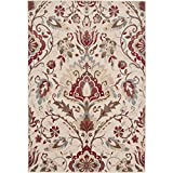 Surya Riley RLY-5017 Machine Made 100% Polypropylene Parchment 10' x 13' Area Rug
