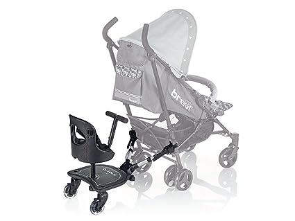 Brevi Plataforma portabebés universal ON BOARD con asiento y ruedas ...