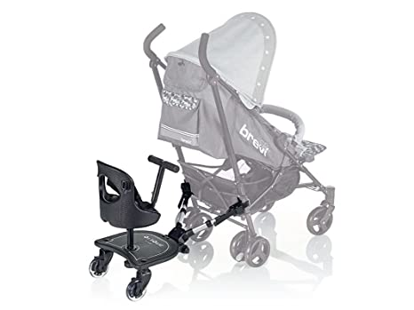 Brevi Plataforma portabebés universal ON BOARD con asiento y ruedas luminosas: Amazon.es: Bebé
