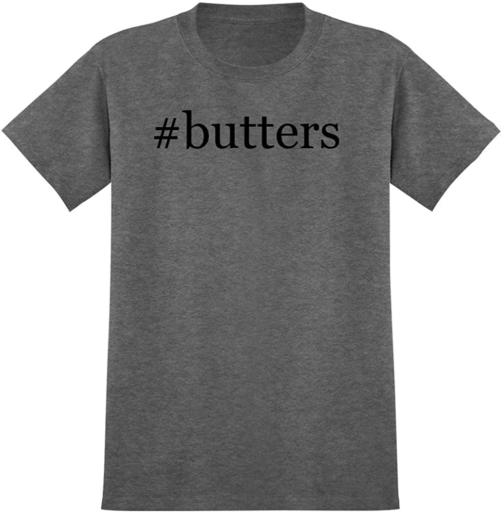 #butters - Hashtag Men's Graphic T-Shirt, Heather, XX-Large
