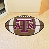 Fanmats Texas A M Aggies Football-Shaped Mats