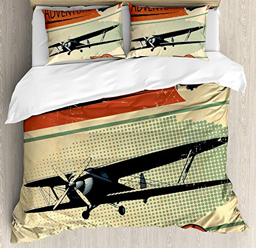 Vintage Duvet Cover Set, Luxury Soft Hotel Quality