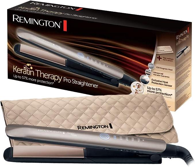 Remington S8590 Keratin Therapy Pro - Plancha de Pelo Profesional ...