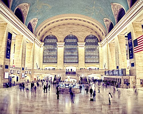 Grand Central Station Photo New York City Photography 5x7 inch Print