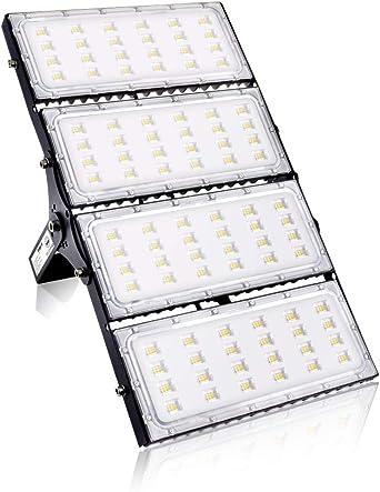 400W Focos LED Exterior, bapro Reflector LED 40000LM Luz Led ...