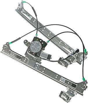 Front Right Passenger Side Power Window Regulator for Chevrolet Trailblazer Buick Rainier GMC Isuzu Saab