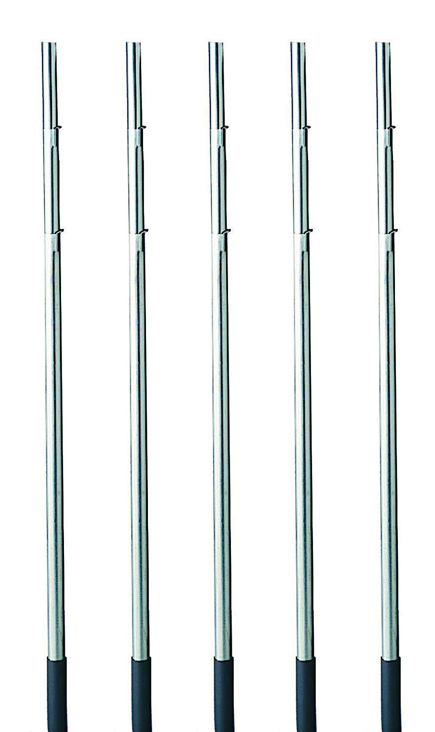 Heath Outdoor Products MP-15-4 15-Foot Telescoping Purple Martin House Pole (5-(Pack))