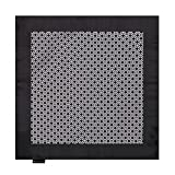 EEHB0373 Black White Patterned Microfiber Handkerchief Perfect Brand Pocket Square By Epoint