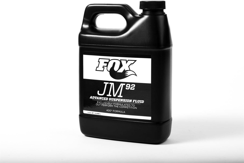 Fox Shocks 025-03-011 Aceite de choque patentado; Fox JM92 líquido de suspensión avanzado; cuarto;: Amazon.es: Coche y moto
