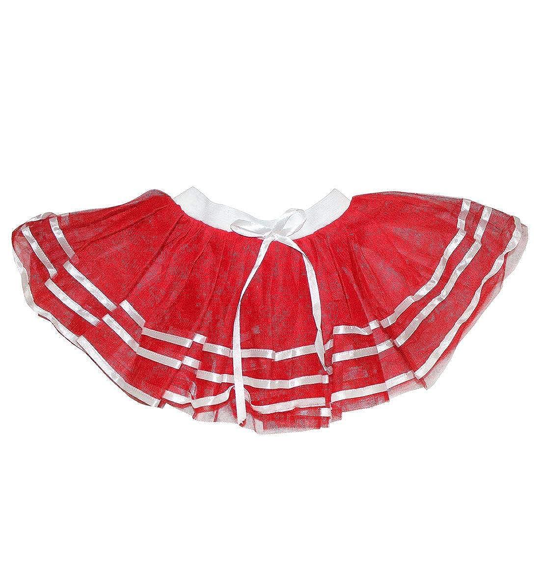Hi Fashionz Se�Oras Adultas Red Cheers Falda de tut� con Lazo ...