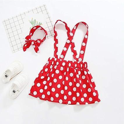 Amazon.com: Disfraz de Minnie de lunares para bebé niña ...