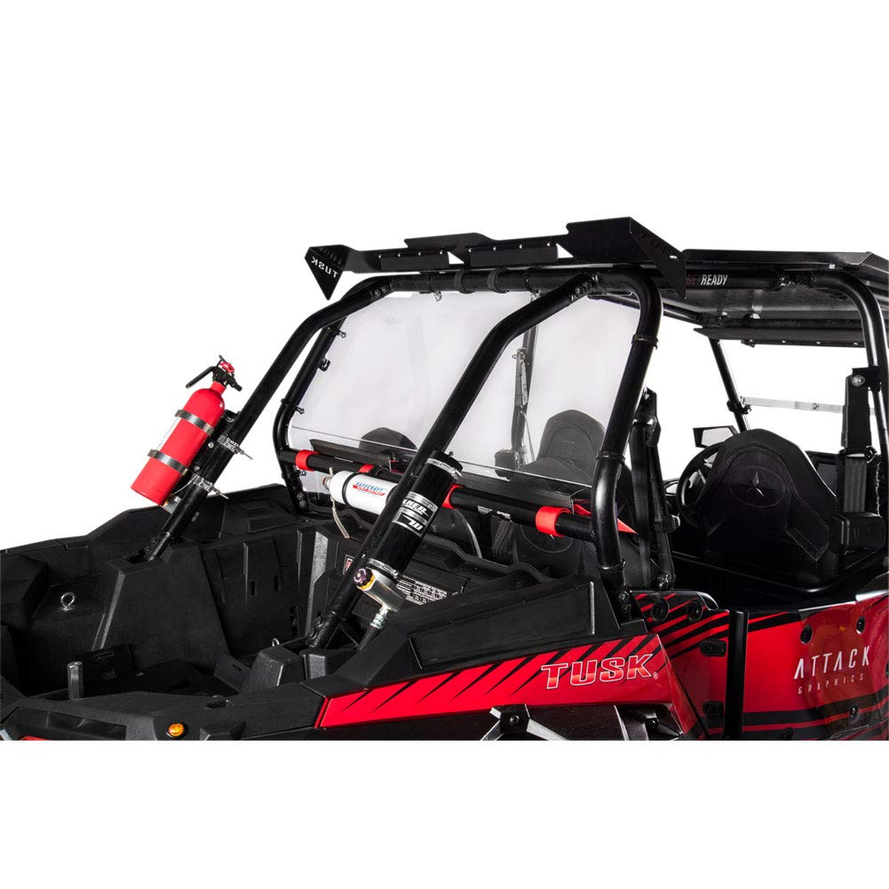 Amazon.com: Tusk UTV Polycarb Rear Window Clear - Fits: Polaris RANGER RZR XP TURBO DYNAMIX Edit. 2018: Automotive