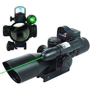 UUQ 2.5-10X40 Clarity + Combo Riflescope