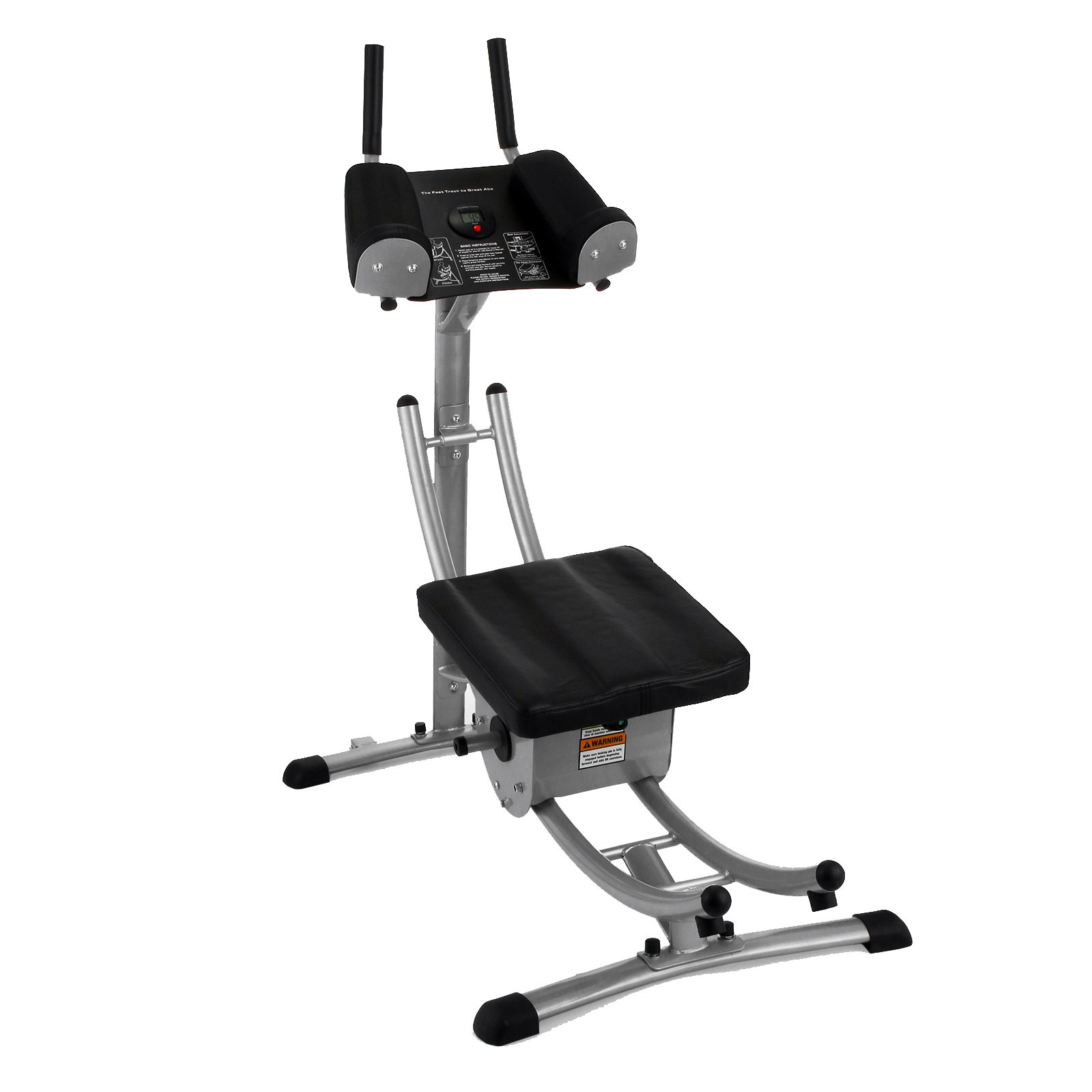 Abcoaster Max Deluxe with Weights- The Back & Neck Safe, Abdominal Fitness Machine by Ab Coaster (Image #7)