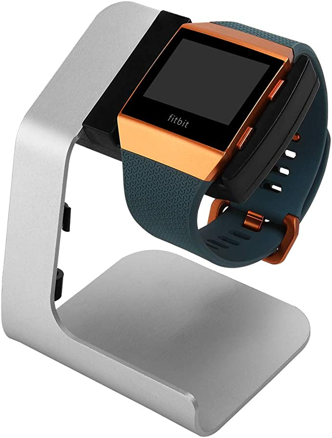 CHARGER FITNESS ACTIVITY STEP TRACKER Fitbit ionic USED STRAPS WITH BOX