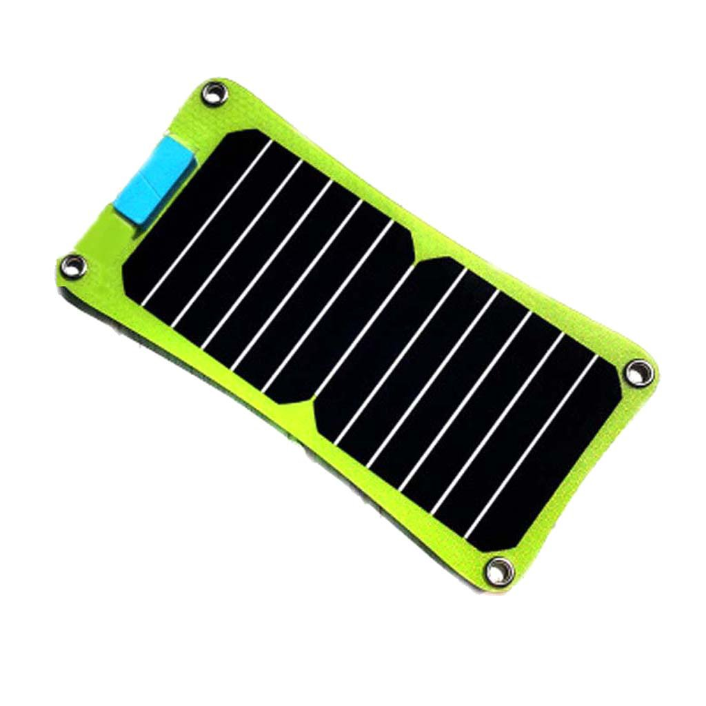 Baosity 7W Solar Charger Portable Foldable with High Efficiency Sun Solar Panels for iPhone 8 / 7S / Plus, Galaxy S8 / S7 / Edge / Plus, Note 8, Nexus, Pixel, etc