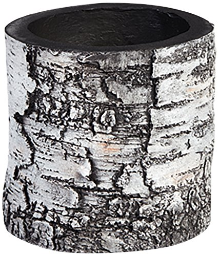 Wood Pot (SURREAL Planters VB-4 Vertical Planter, 6-Inch,)