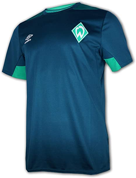 Umbro 2019-2020 Werder Bremen Training Football Soccer T-Shirt Trikot Black