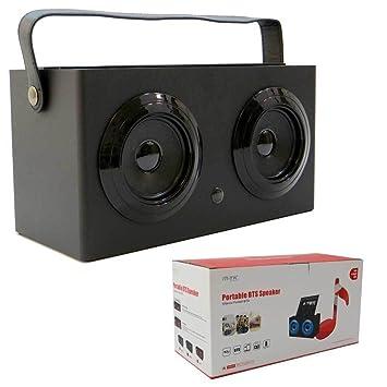 Speaker Bluetooth + 3,5 mm 3 x 2 W Puerta USB Tarjeta SD Mando ...
